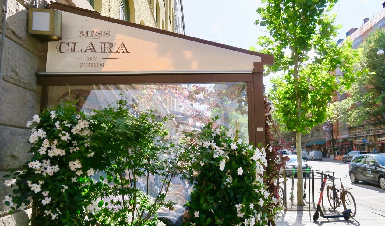 Inspirerande miljö för en presslunchpå boutiquehoellet Miss Clara