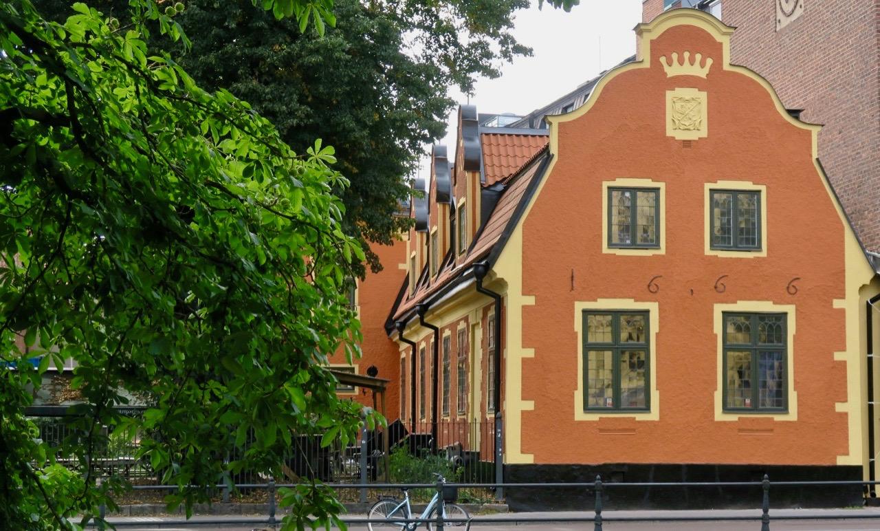 Västgöta nation i Uppsala. Huset är byggt 1666.