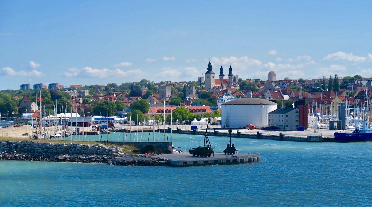 Kanske är VIsby på Gotland en av de platser jag kan tänka mig att bo på.