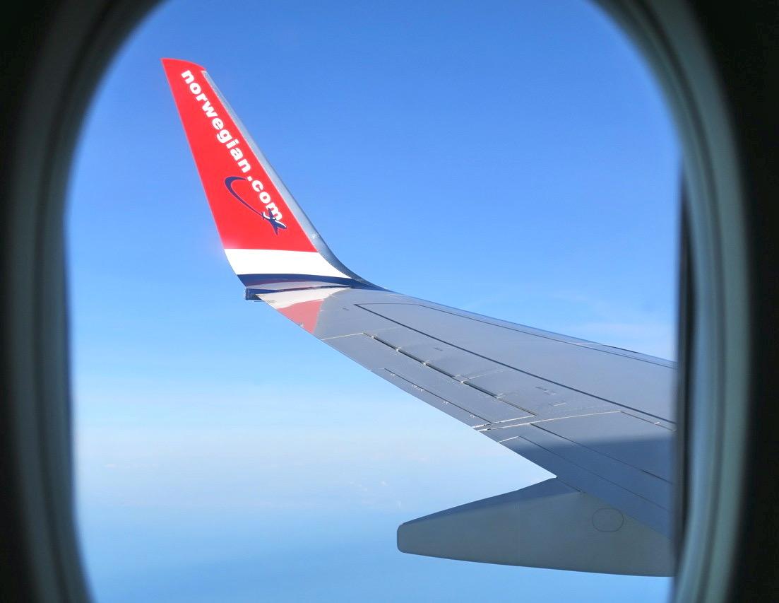 Stockholm Arlanda. Snart på väg mot staden Bilbao på spanska Atlantkusten