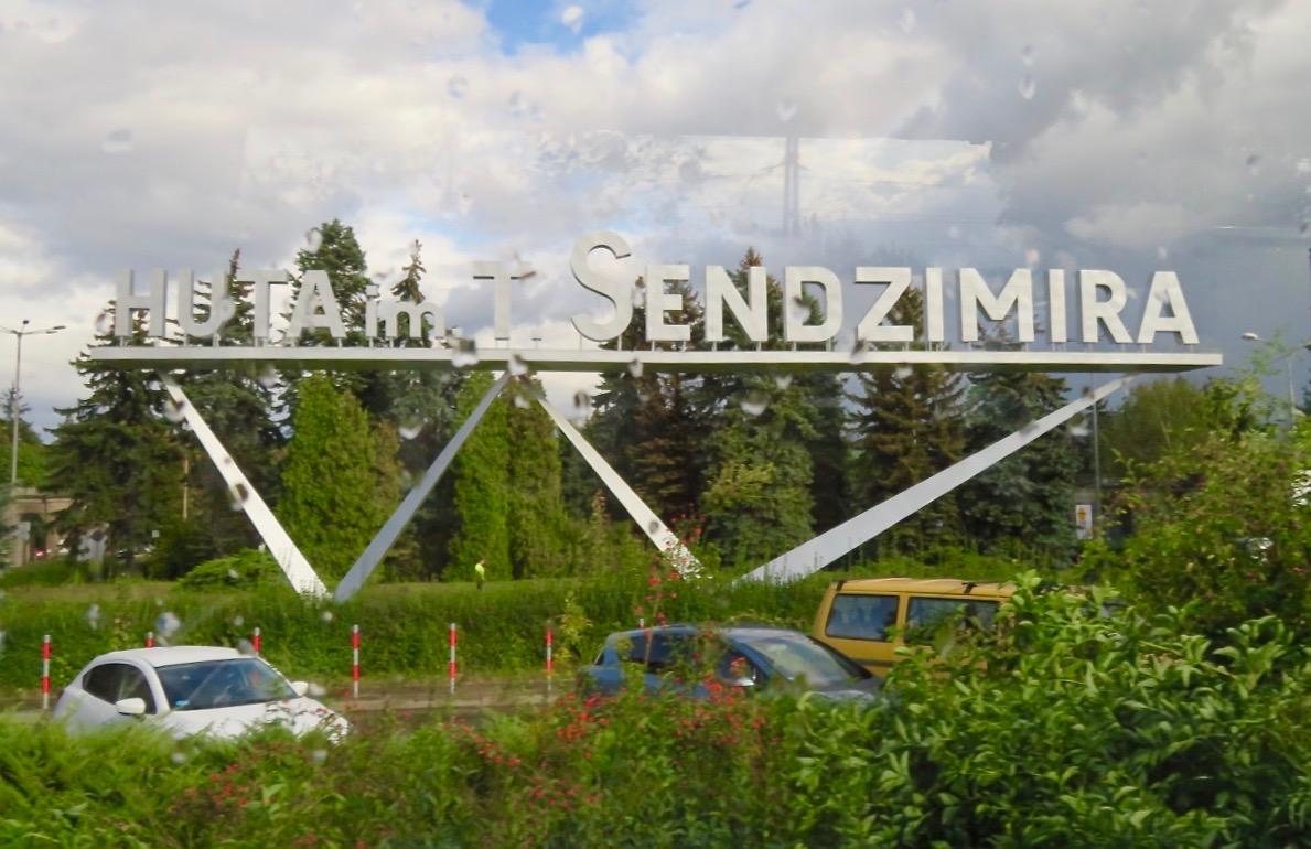 """Nowa Huta/ Nya stålverket -""""Idealstaden"""" ligger strax öster om Krakow."""