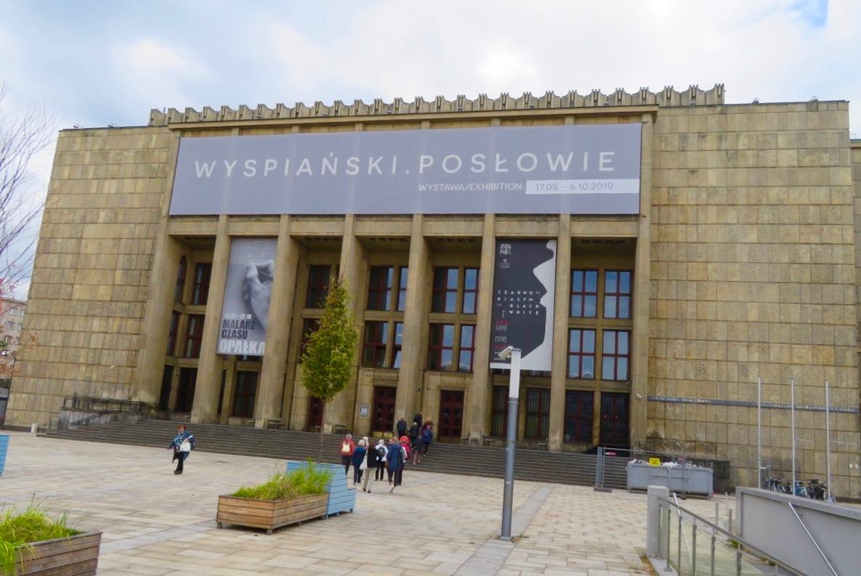"""Krakows nationalmuseum. Här finns sedan 2016 """"Damen med Hermelinen"""" målad av Leonardo da Vinci."""