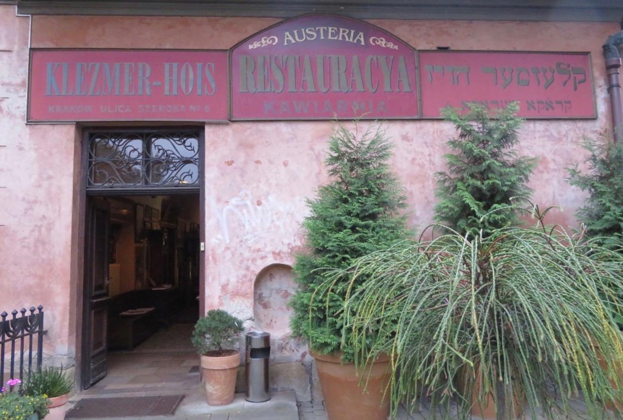 Restaurang Klezmer - Hois. Jag gjorde ett besök för att se att allt var klart för en kväll här.