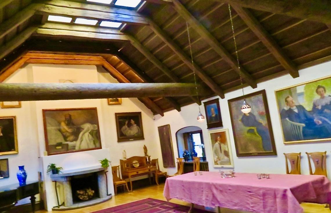 På Villa Nedre Manilla och de Bonnierska porträttsamlingarna är det gott om både konst, kultur och litteratur