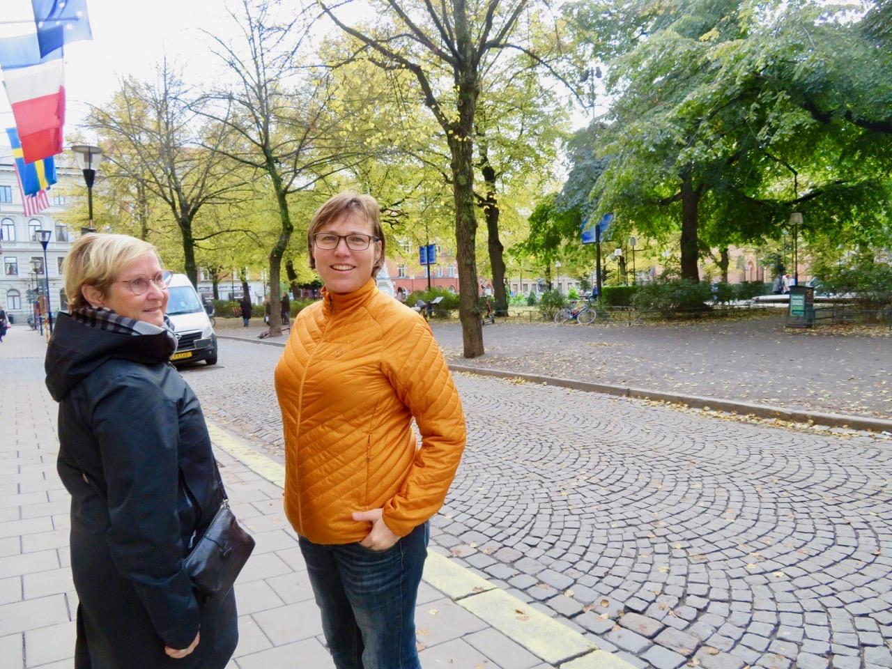 Dags att säga hej då för denna gång. Men min Stockholmsfredag fortsatte .