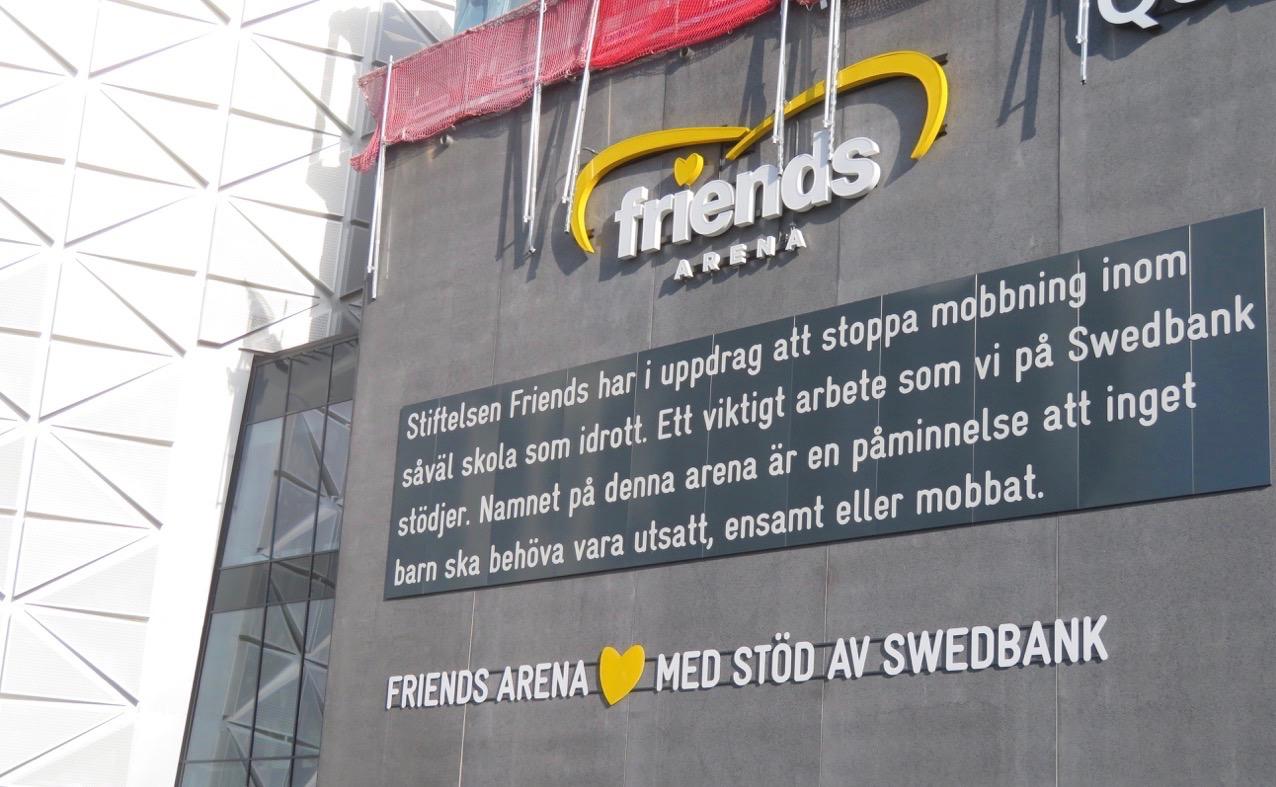 FMycket har hänt i veckan och besöket vid Friends Arena och i AIK:s fotbollsbutik var båda premiärer för mig