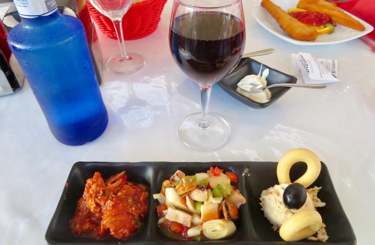 Middag på restaurang Alingui i Torrevieja centrum