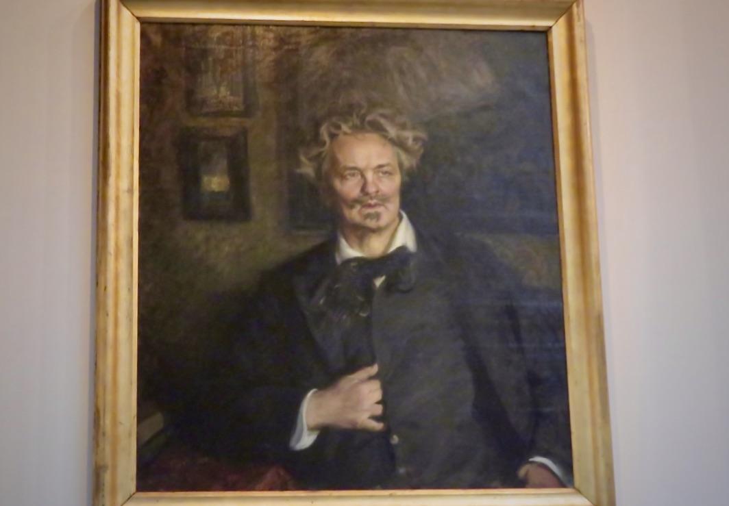 Konst, kultur och litteratur. August Strindberg målad av Richard Bergh.
