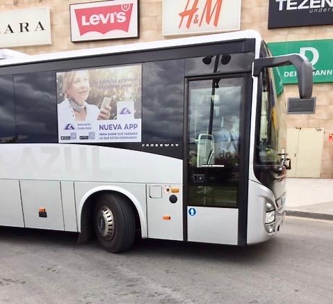 Bussen till Torrevieja kom i strort sett på utsatt tid. Så i fortsättningen blir det ingen utmaning att ta mig vare sig till eller från La Zenia.