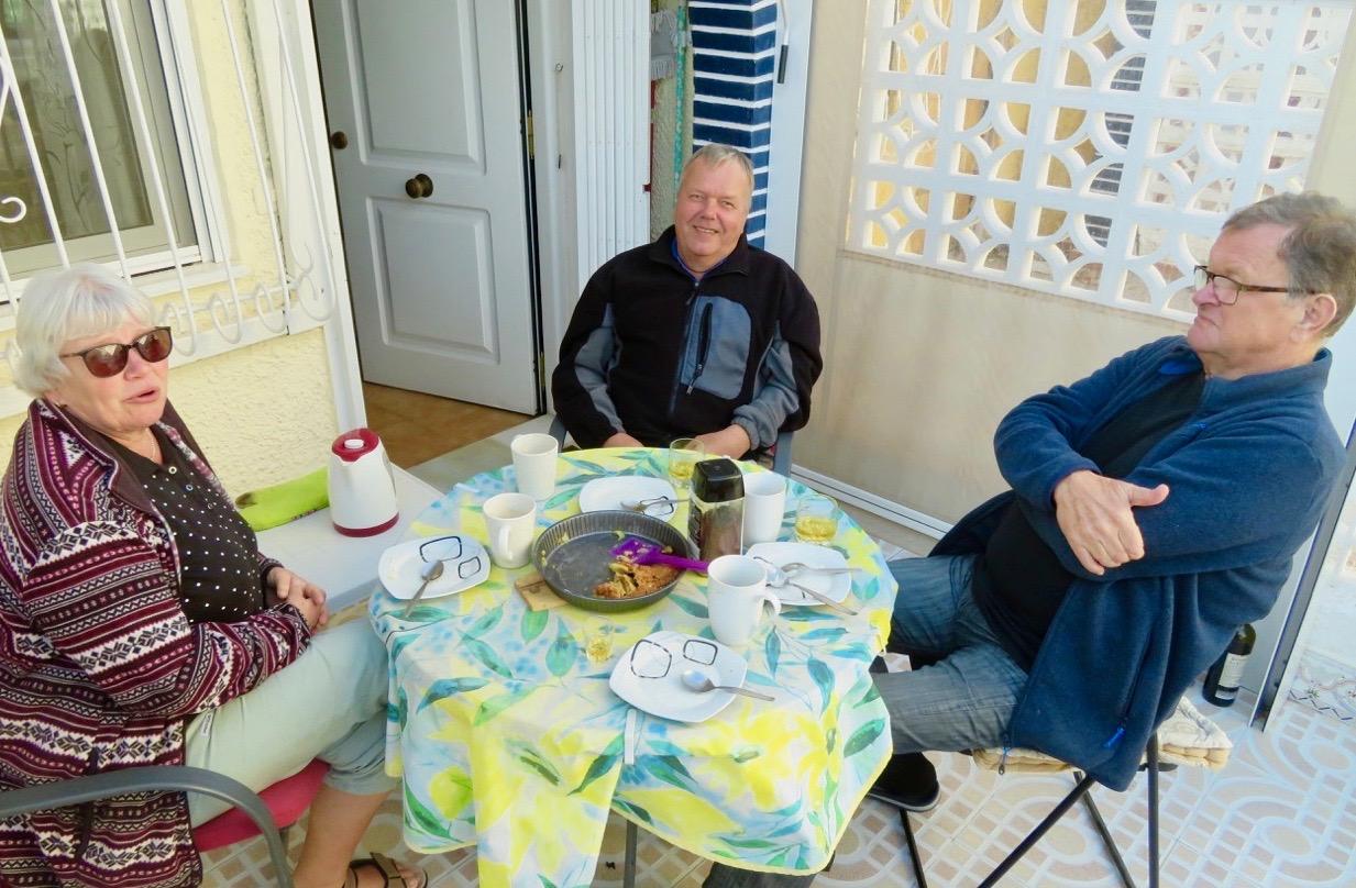 Gästerna ser glada och nöjda ut. Och de goda förutsättningar som dagen började med höll i sig.