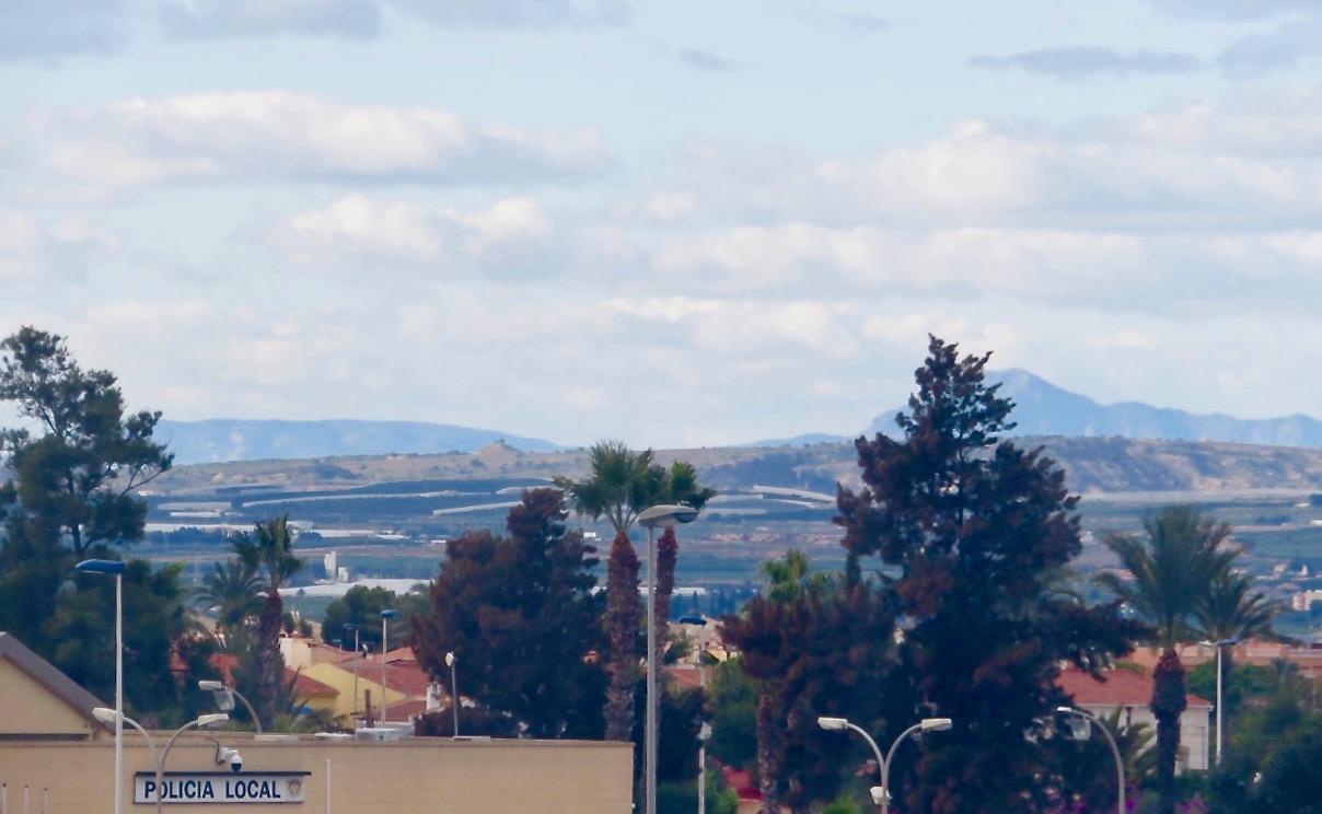 Lite naturliga omgivningar från Torrevieja platsar också i Skyltsöndag.
