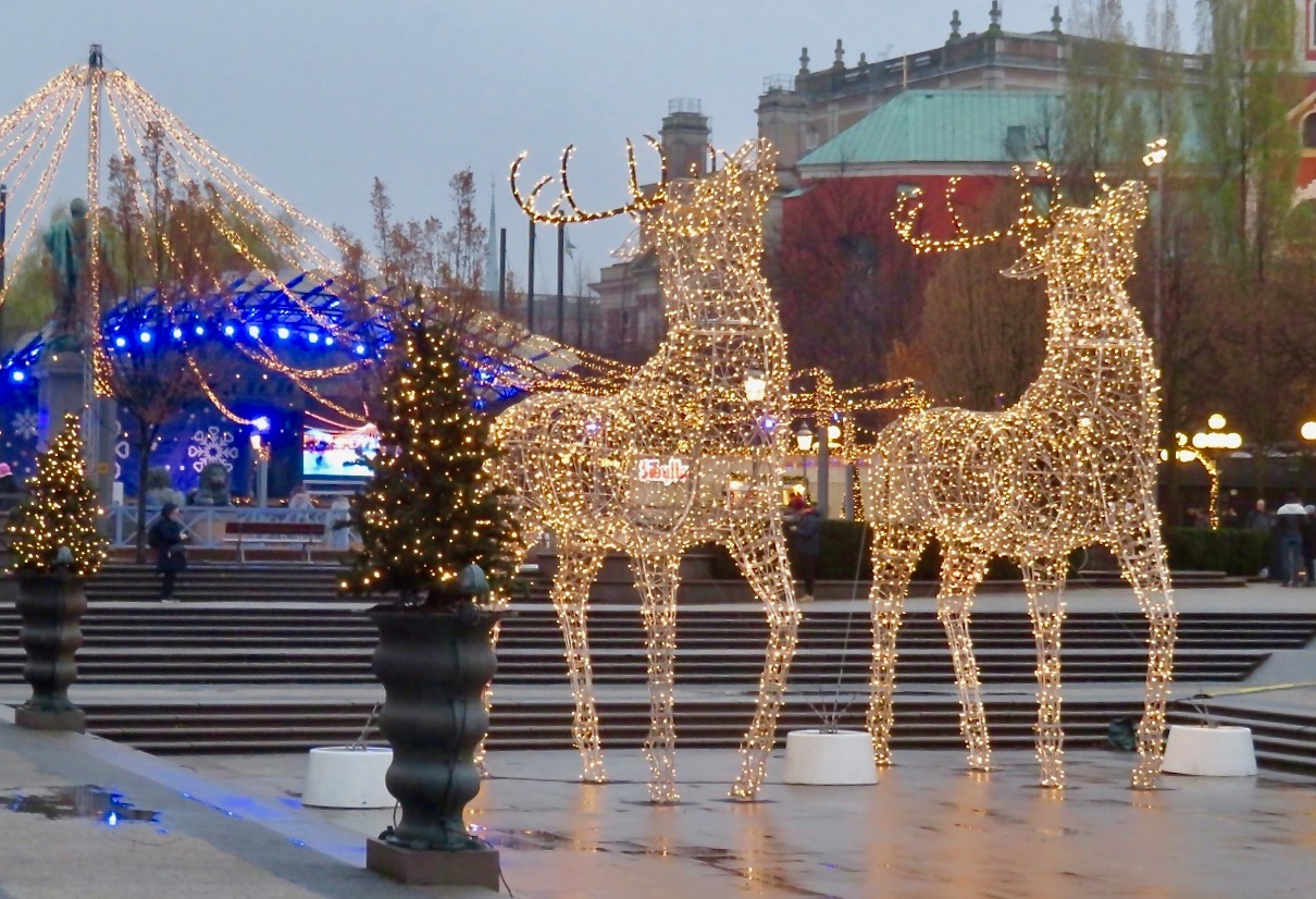 Kungsträdgården i Stockholm.