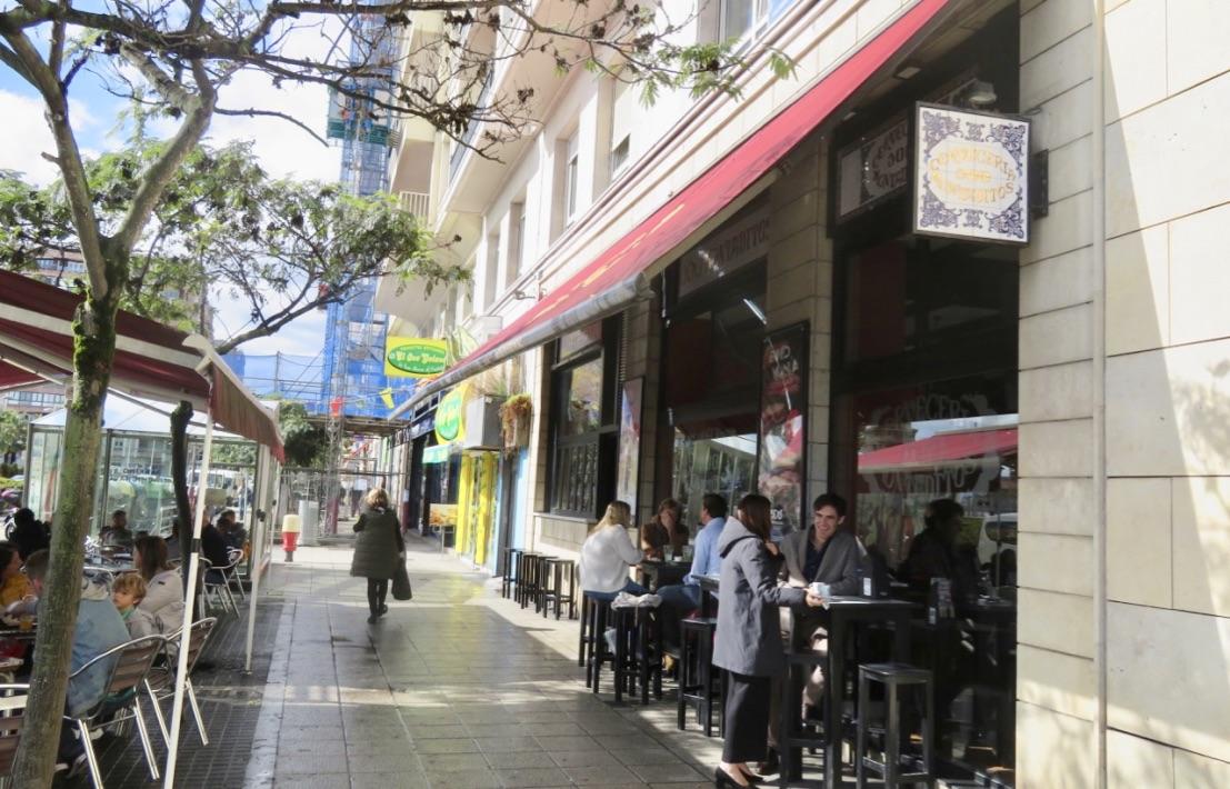"""Ett """"pitstop"""" under gång är alltid trevligt och staden Santander erbjuder många varianter."""