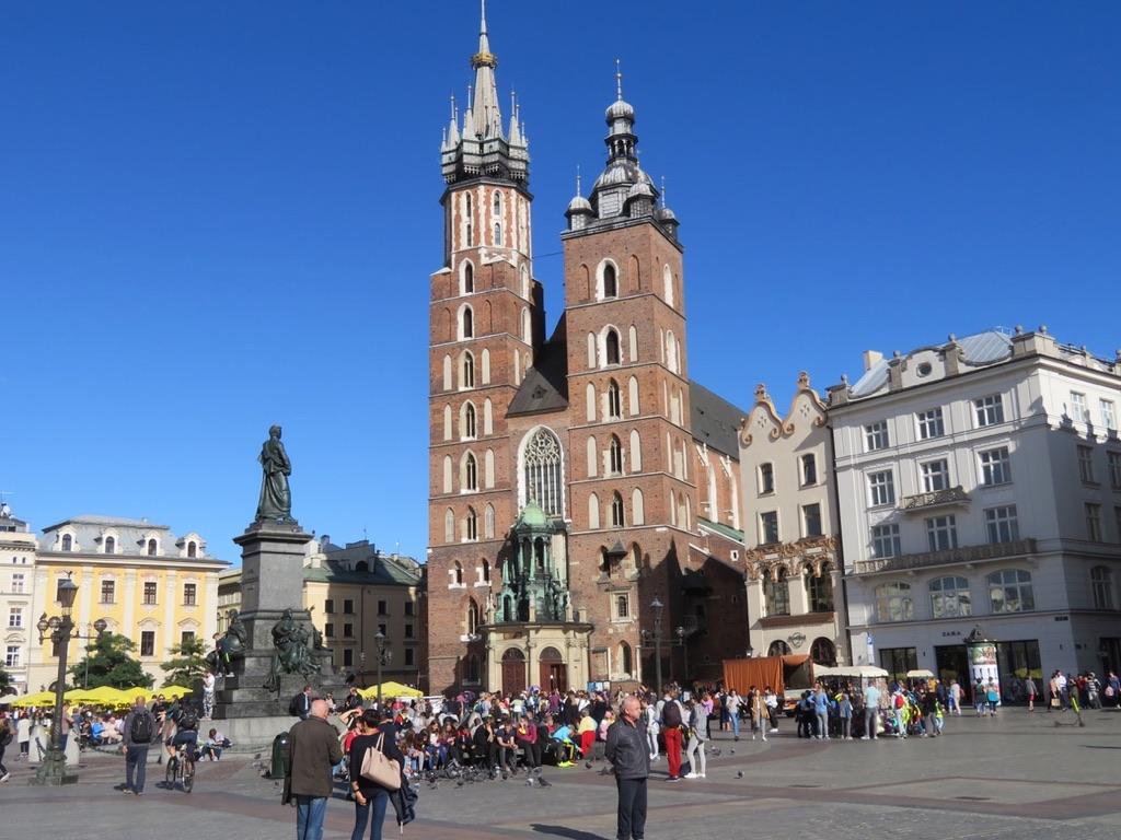 Ännu en återblick. Nu Krakow, en stad jag besökt många gånger och som jag tykcer mycket om.