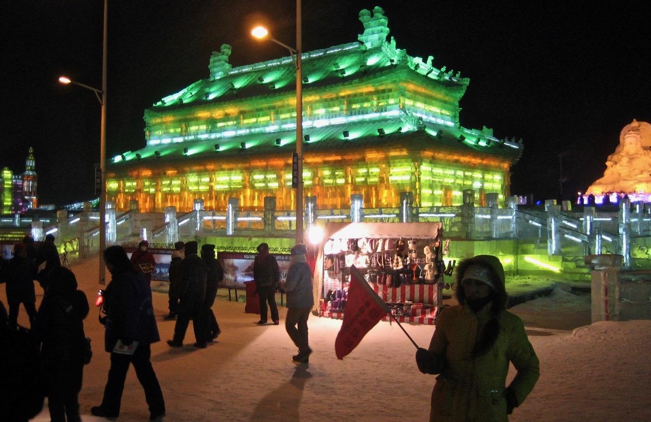 Harbin. En festival i snö och is.
