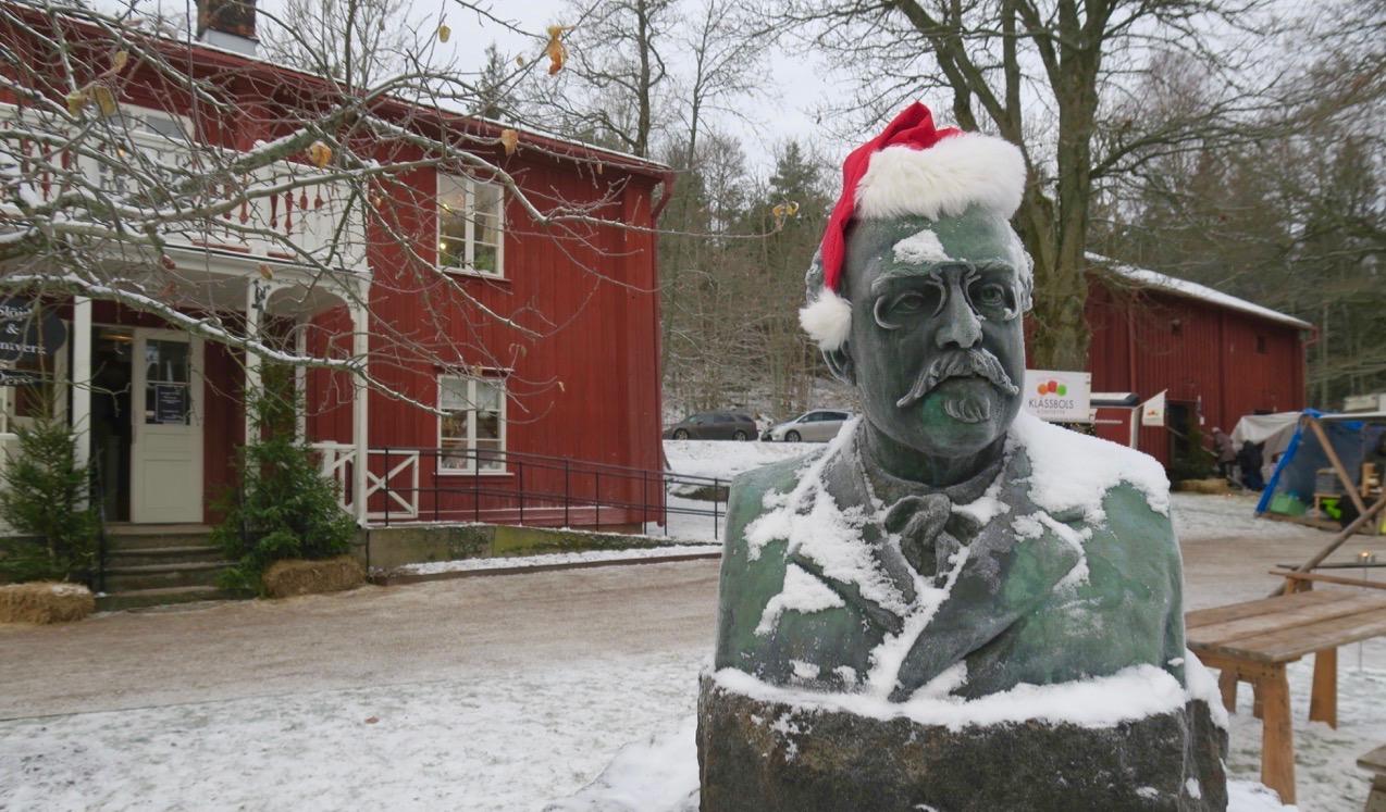 Gustaf FRöding föddes här på Alsters herrgård.