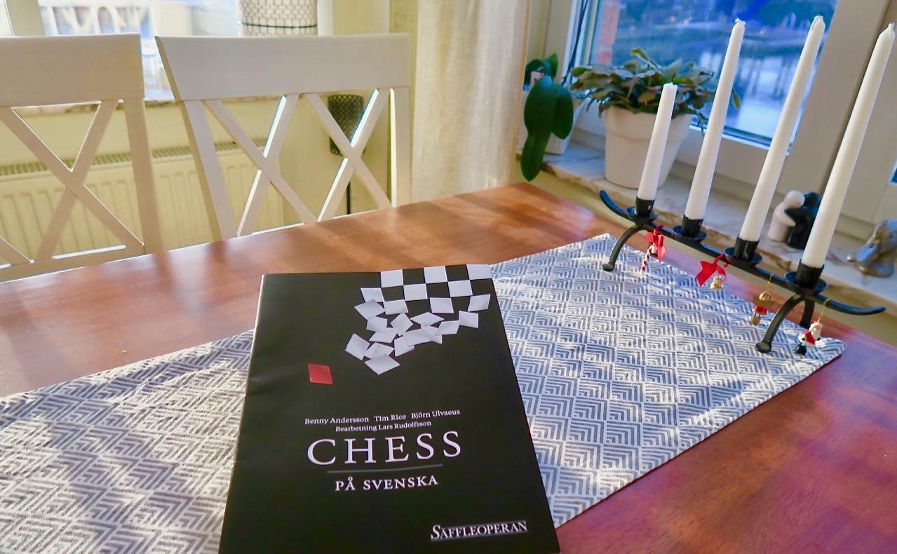 Chess på svenska - En fantastisk uppsättning av Säffleoperan