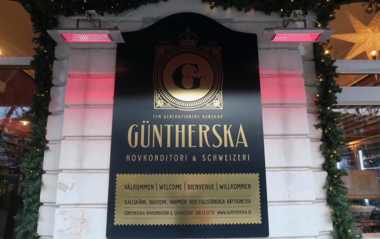 Günterska i Uppsala är ett anrikt konditori.