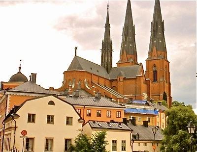 I Skyltsöndag från Uppsala har domkyrkan sin givna plats