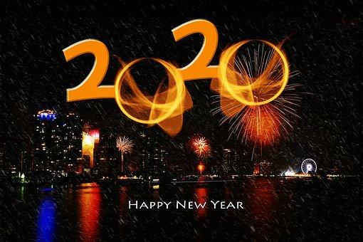Gott Nytt År! Välkommen 2020!