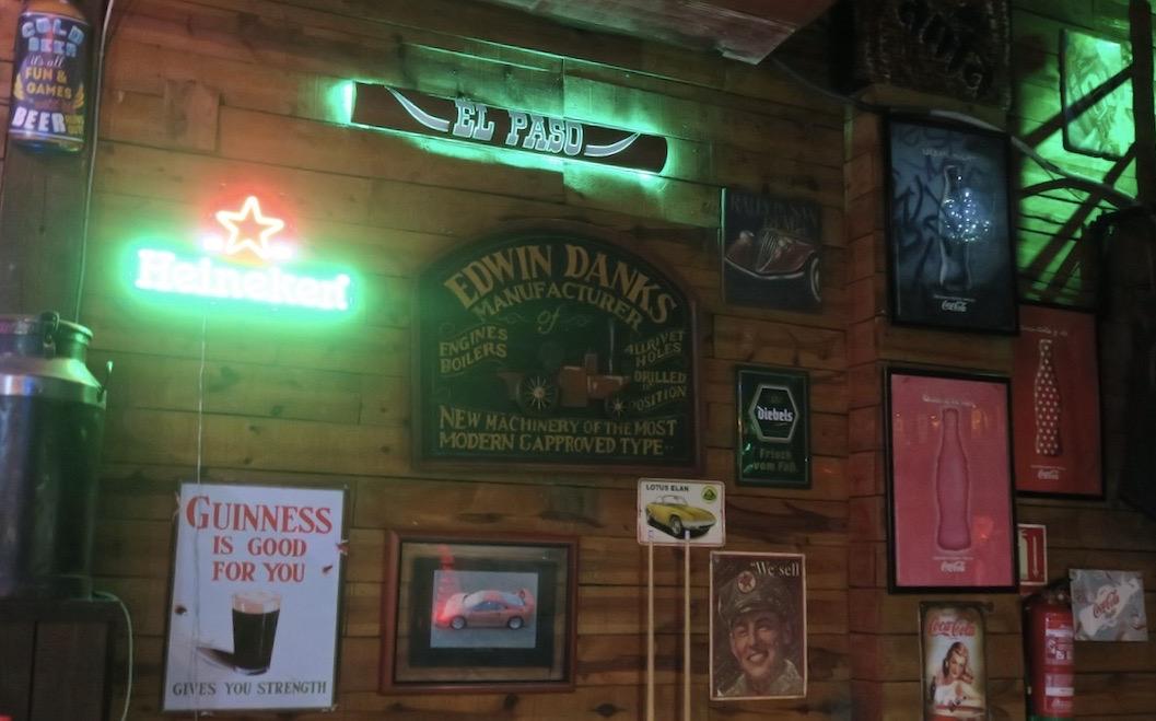 En av veckans händelser, av dte mer fartfyllda slaget, var kvällen på baren El Paso i Torrevieja.