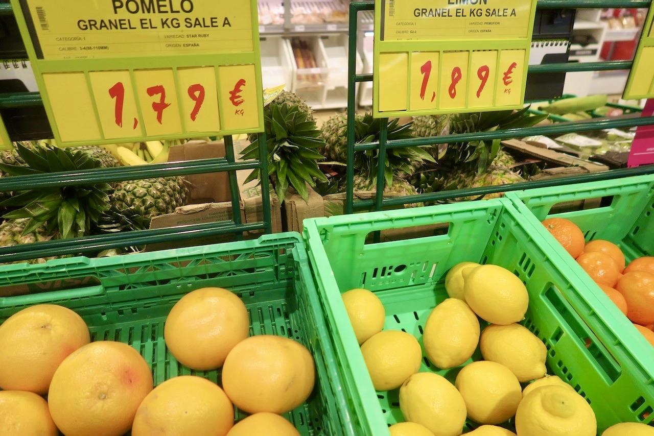 Fler citrusfrukter - pomelo och citron