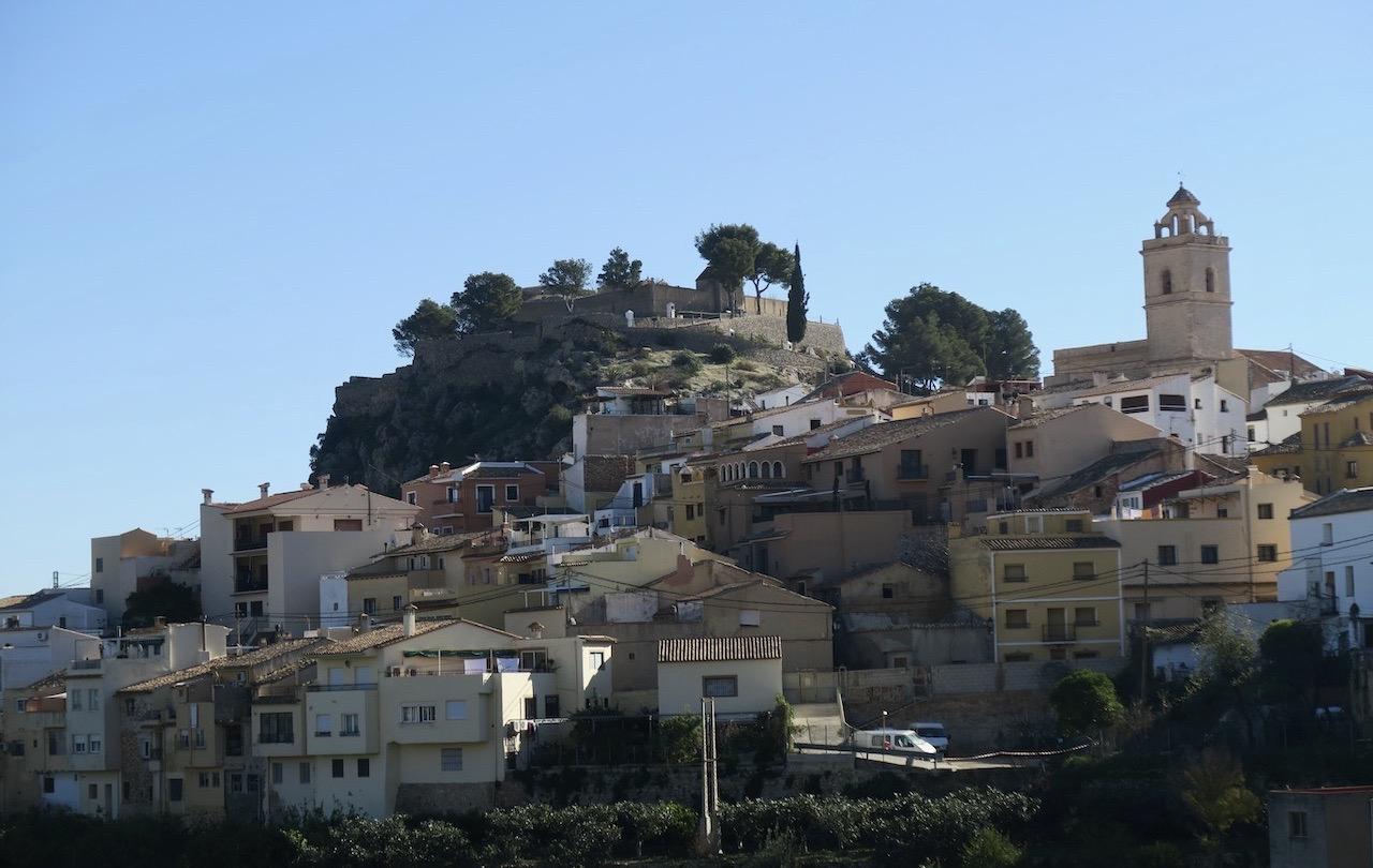 Polop de la Marina är en av alla byar längs Costa Blanca