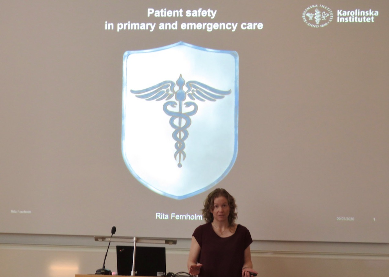 Mycket av det mesta angående patientsäkerhet finns med i avhandlingen.