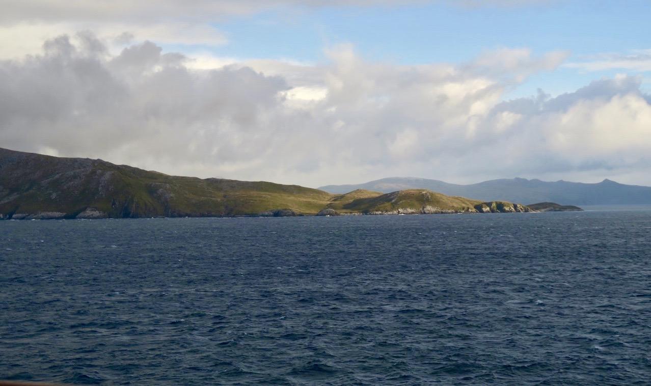 Rejäla vatten vid Kap Horn. Här mötes Atlanten och Stilla havet