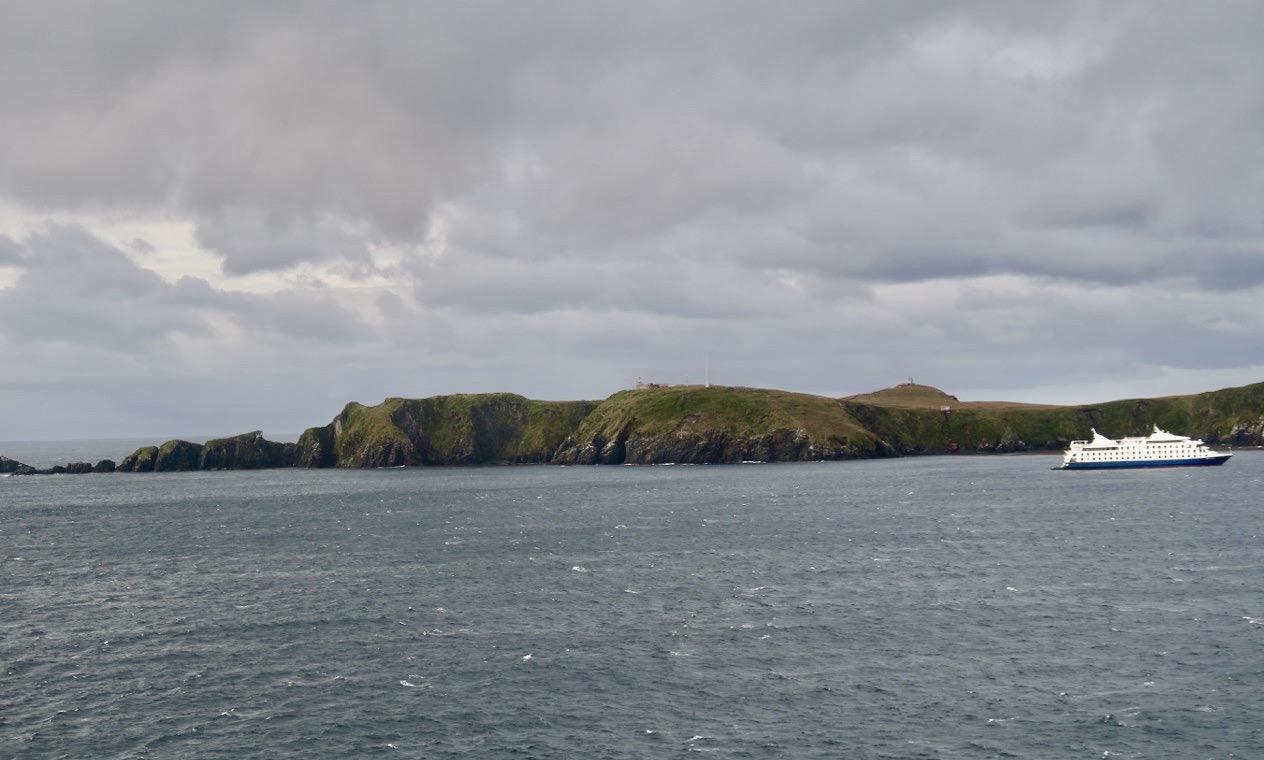 Kap Horn. En mytomspunnen klippa längst söderut i Chile. Och vi kom nära men inte helt runt