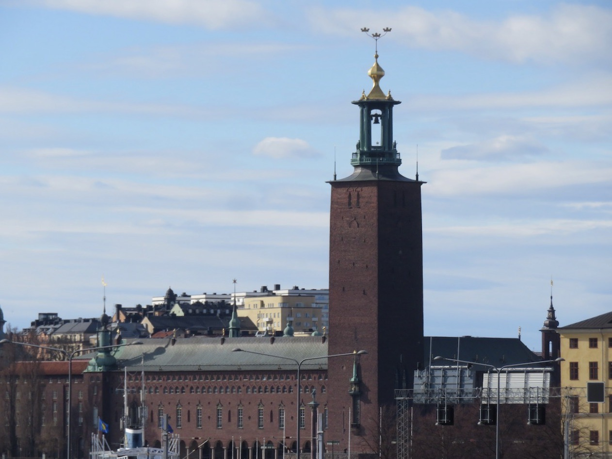 Stockholms stadshus är nästan ett givet besöksmål för en turist.