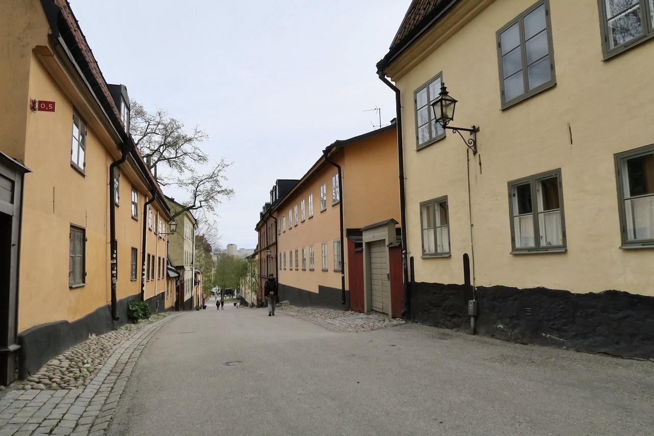 Också en favorit på Södermalm. Området kring gatstumpen Yttersta Tvärgränd.
