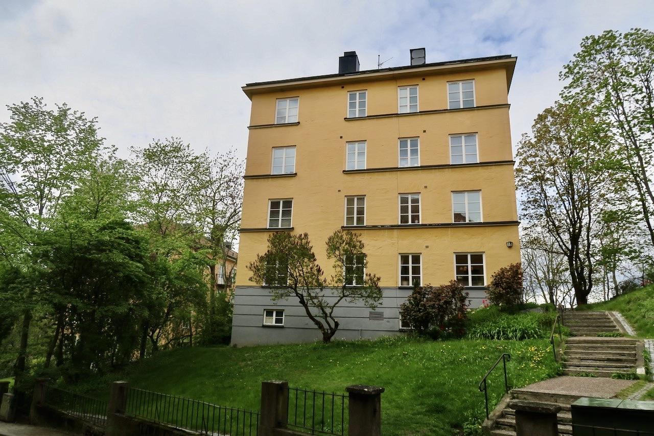 Kvarteren runt Metargatan och området här visar mer av det genuina Södermalm
