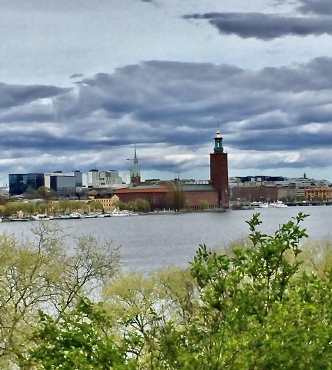 Ytterligare en favorit fick vi igår i Stockholm. Pålsundsparken på nordvästra Södermalm.
