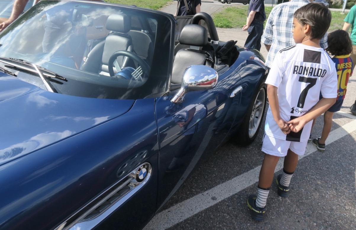 En riktigt vass bil. En BMW!