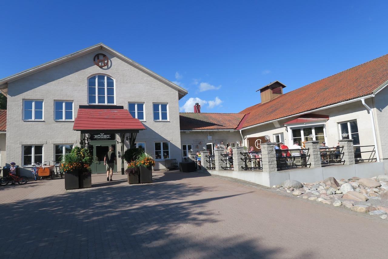 Gästrikland. Sandviken. Högbo bruk och hotellet här var målet för vår minisemester.