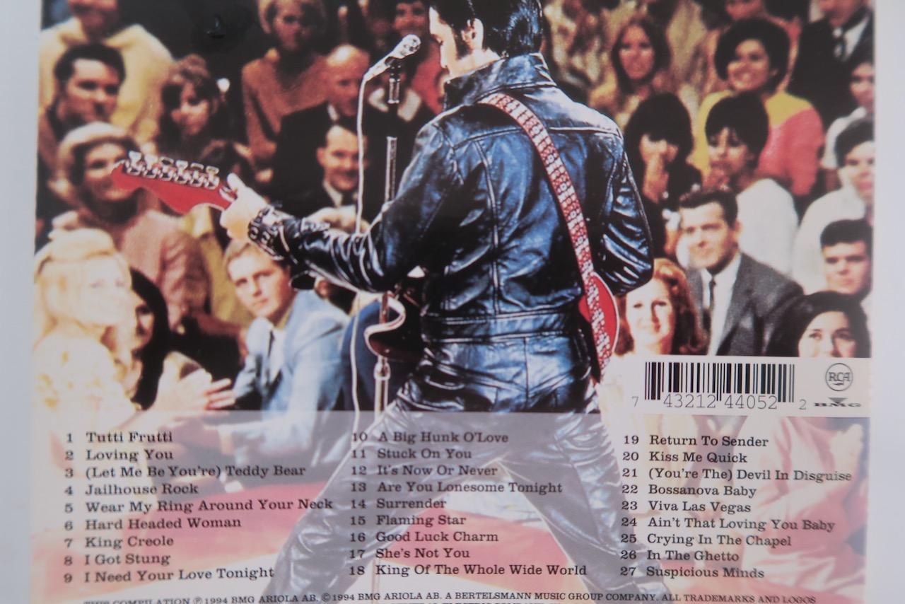 Rock. I musikväg. Elvis Presley. Kanske var han en gång kungen av rock.