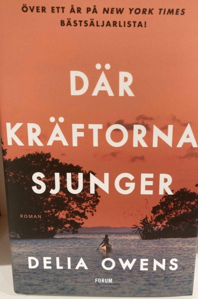 """""""Där kräftorna sjunger"""". En bok jag verkligen fastnade för ."""