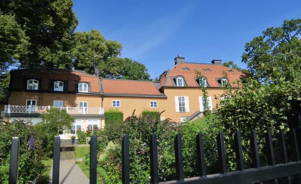 """Stockholm. Djurgården. """"Nedre Manilla"""" eller""""Villa Bonnier""""."""