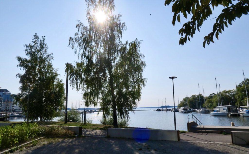 Västerås fortsatte att stråla hela dagen.