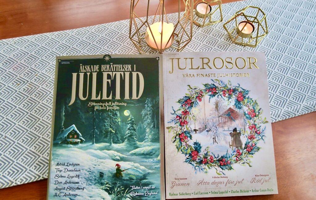 """Båda magasinen; Julrosor och """"Älskade berättelser i juletid"""" bjuder på väldigt trevlig läsning"""