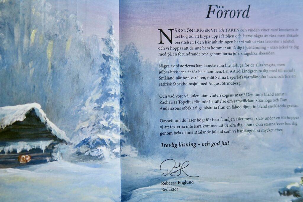 """Magasinet """"Älskade berättelser i Juletid"""" Trevlig läsning är det verkligen. Och omväxlande"""