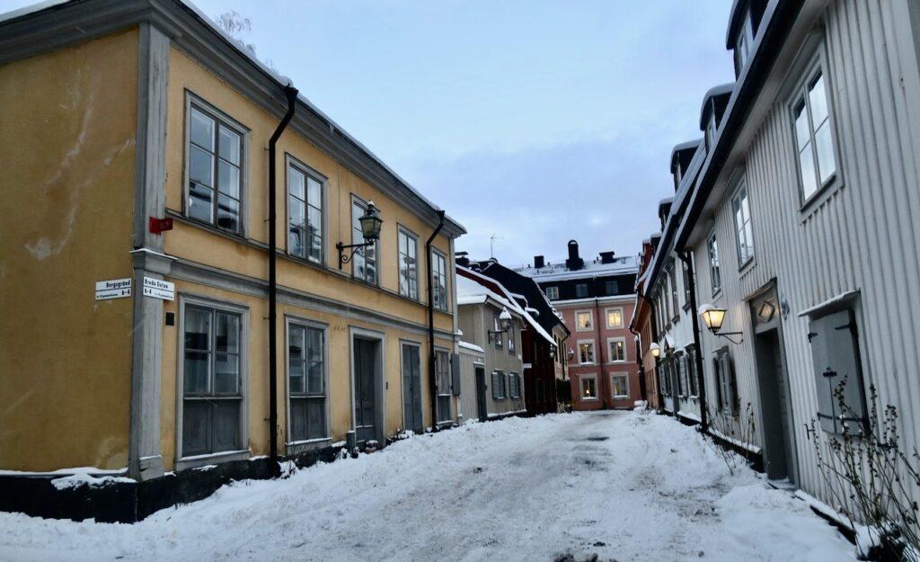 Stockholm. Djurgårdsstaden. Breda gatan.