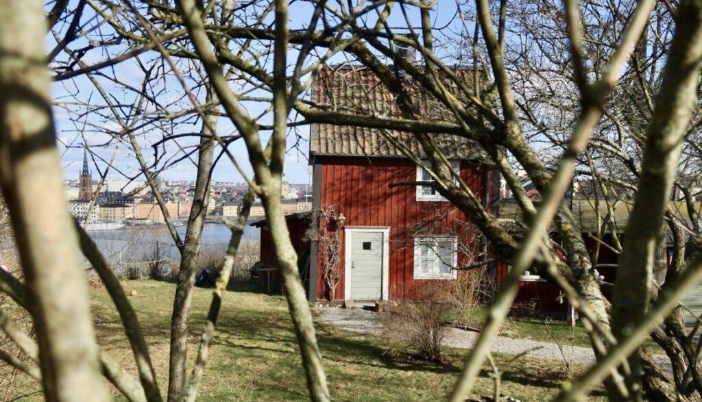 Stockholm. Södermalm- Skinnarviksberget. Hus med god utsikt. Absolut.