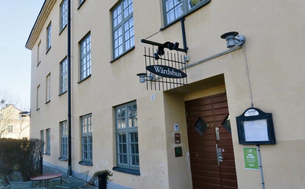 Stockholm. Långholmen och Wärdshuset.