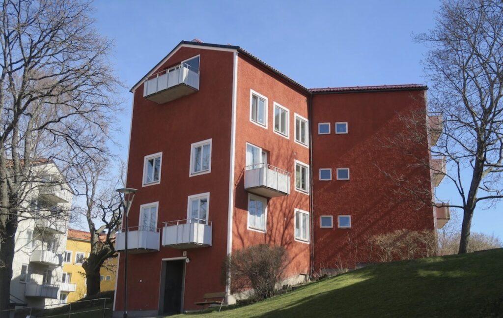 Stockholm. Stadsdelen Gröndal. Stjärnhusen.