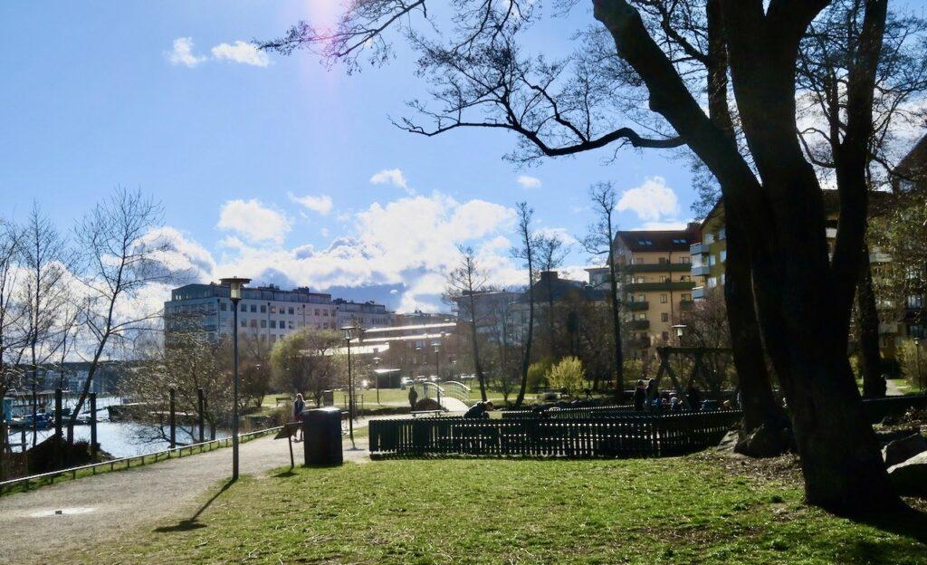 Stockholm. Luxparken på Lilla Essingen kom till på 150-talet men har under åren byggts ut.