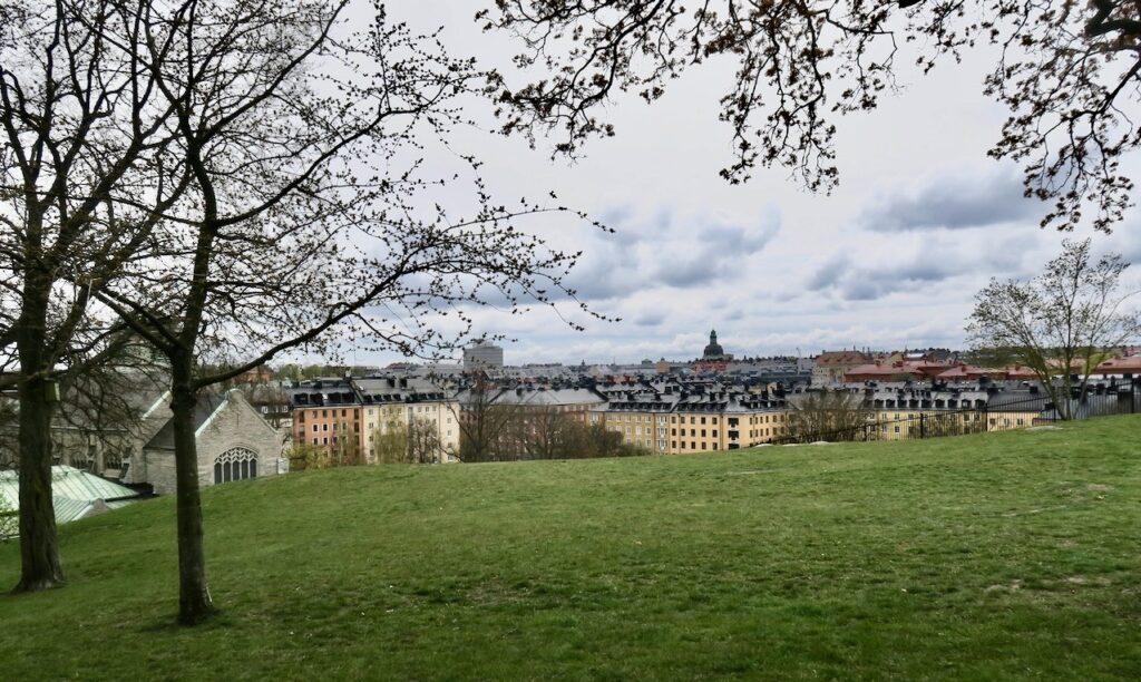 Stockholm. Vanadislunden en park som ligger på en del av den gamla rullstensåsen, Brunkebergsåsen
