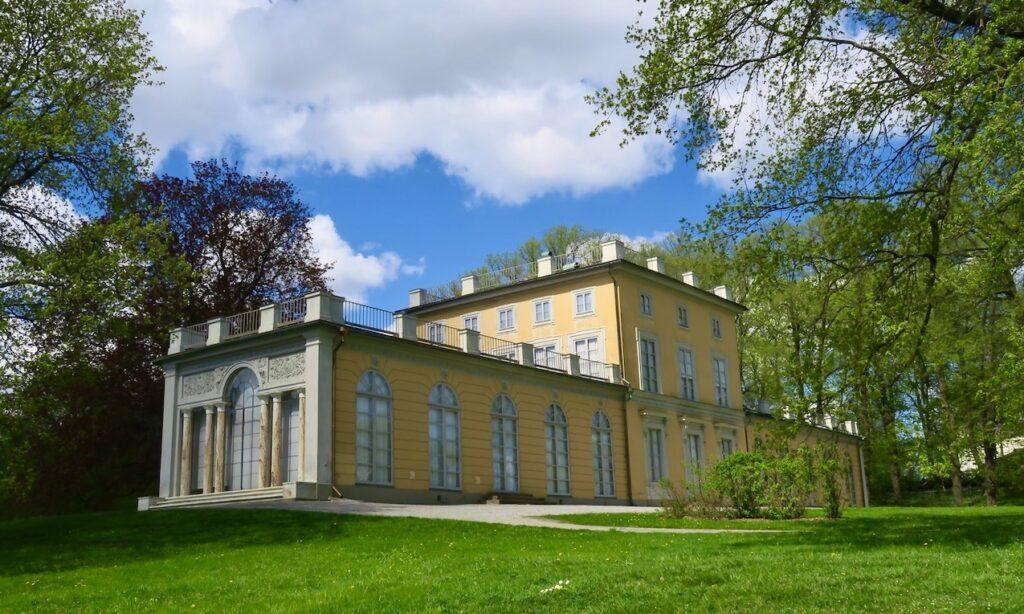 Hagaparken. Gustav III:s paviljong där kung Gustav III bodde under åren 1789- 1792