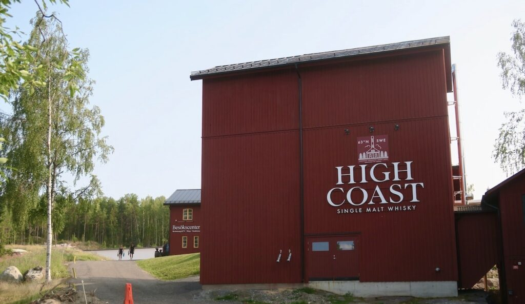Nästa stopp på denna rundresa är High Coast Whisky Destillery